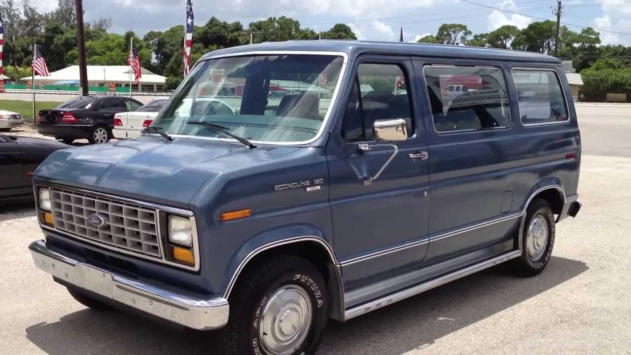 Pictures of ford econoline