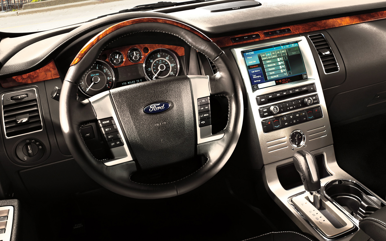 Pictures of ford flex 2012