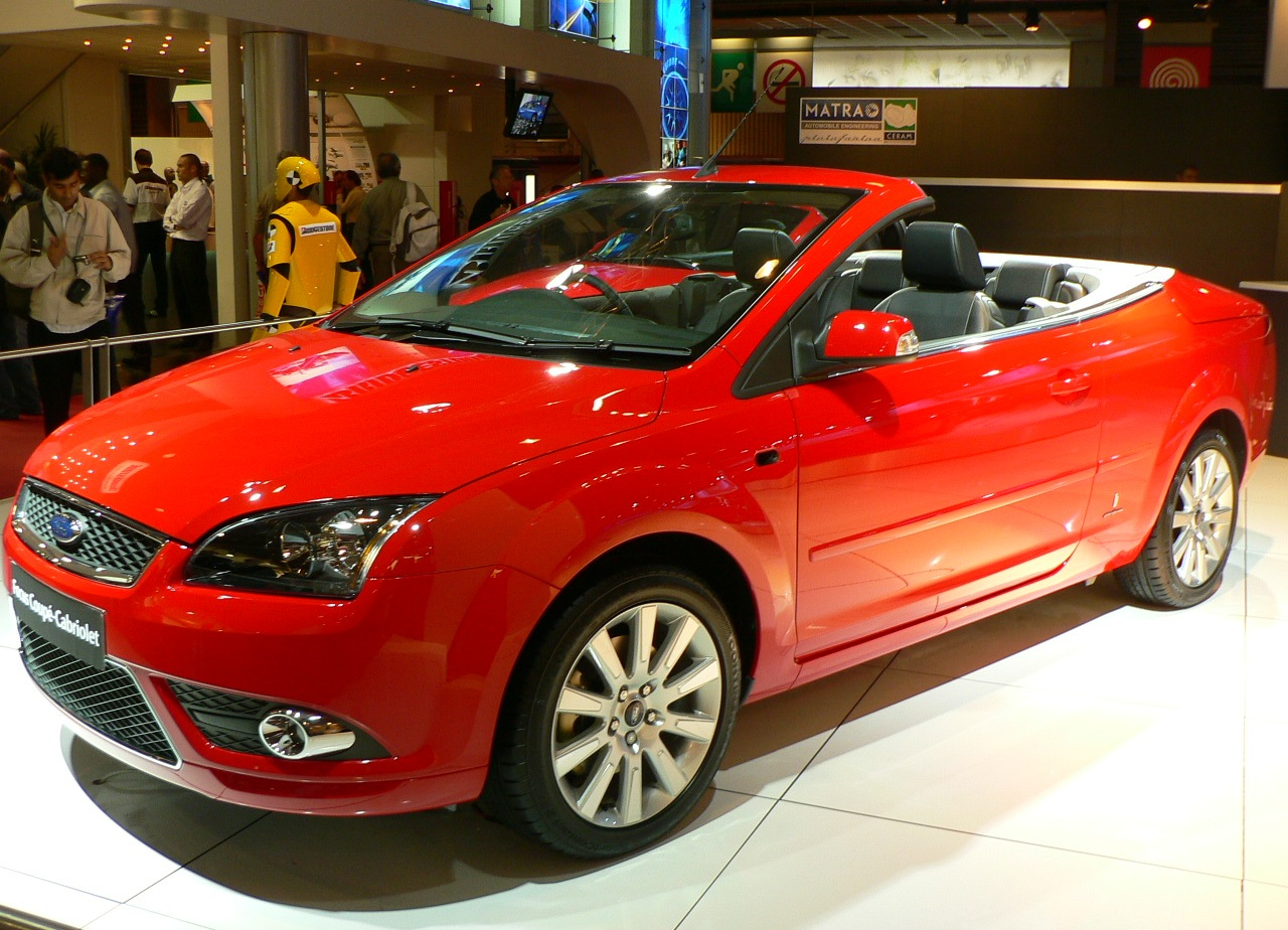 Pictures of ford focus coupe cabriolet ii 2008