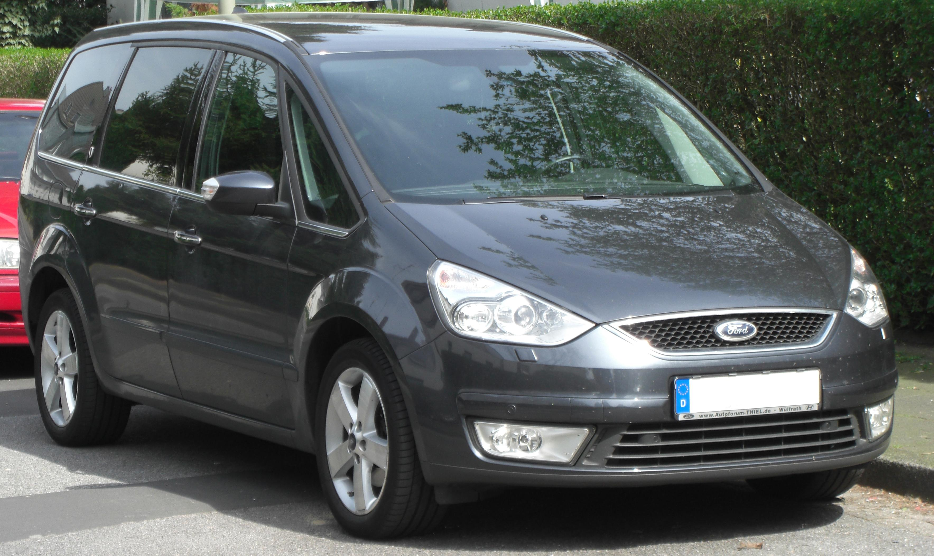 Pictures of ford galaxy