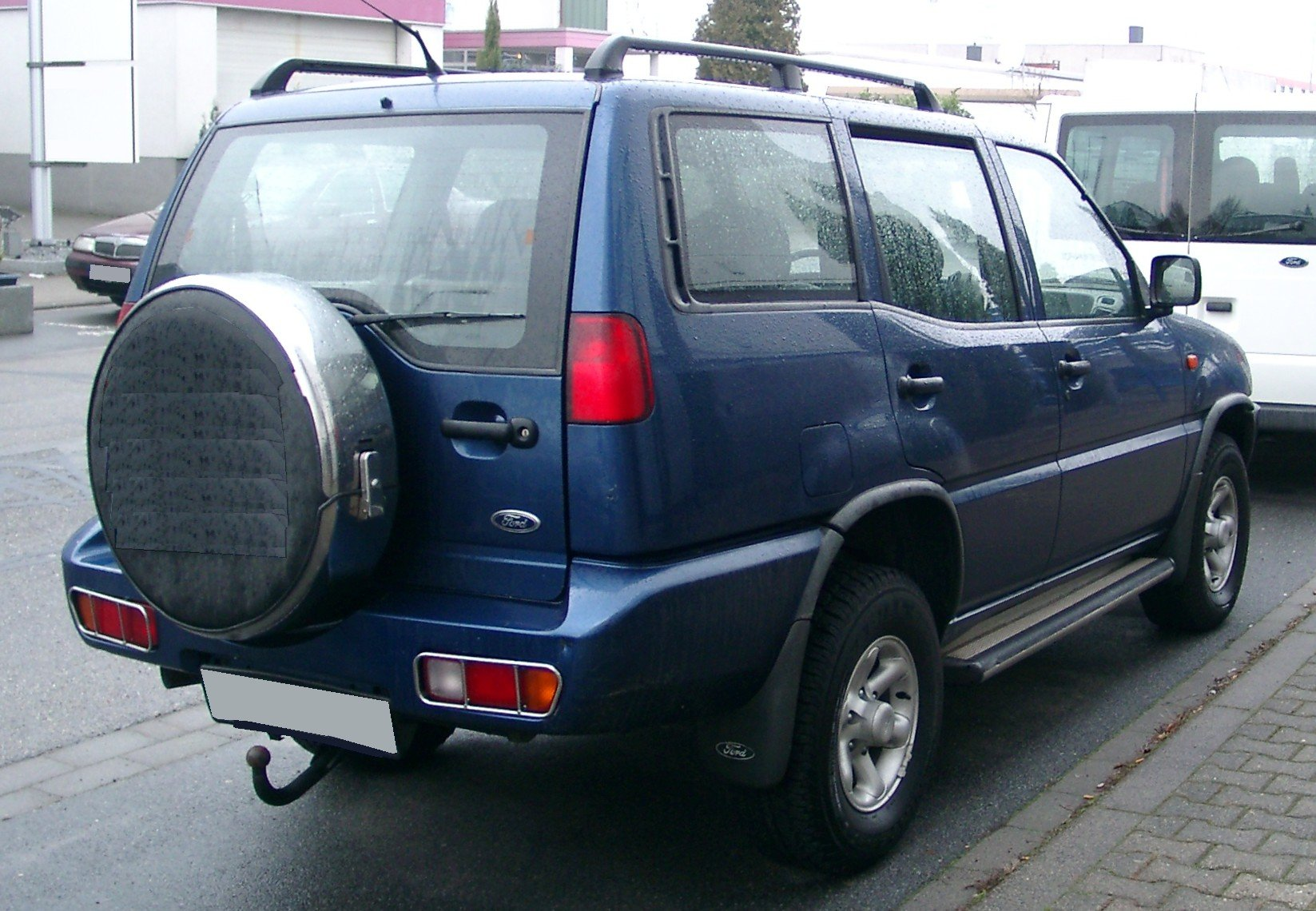 Pictures of ford maverick ii 2002
