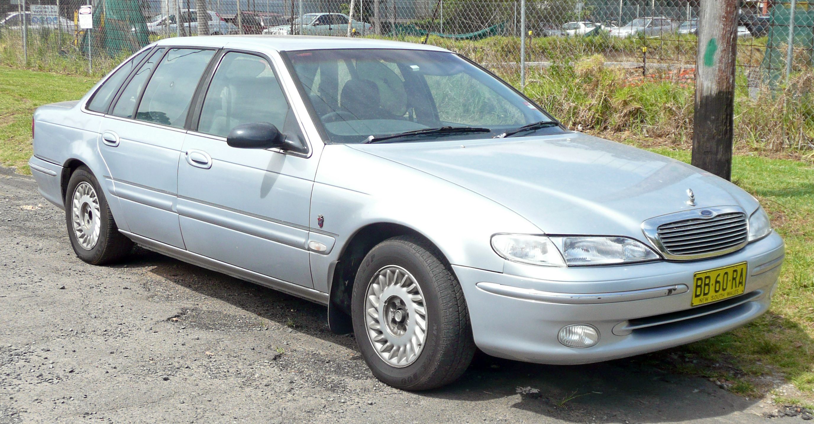 1995 Ford Mondeo Ii Sedan Pictures Information And
