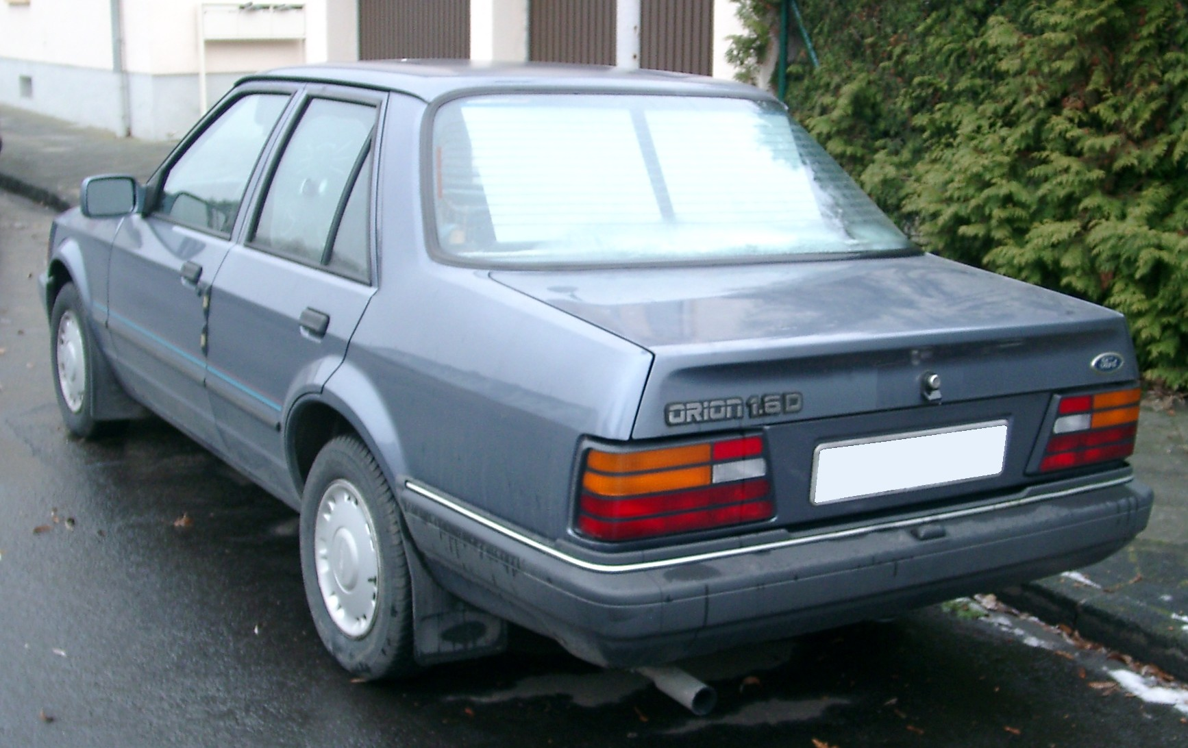 Pictures of ford orion #4