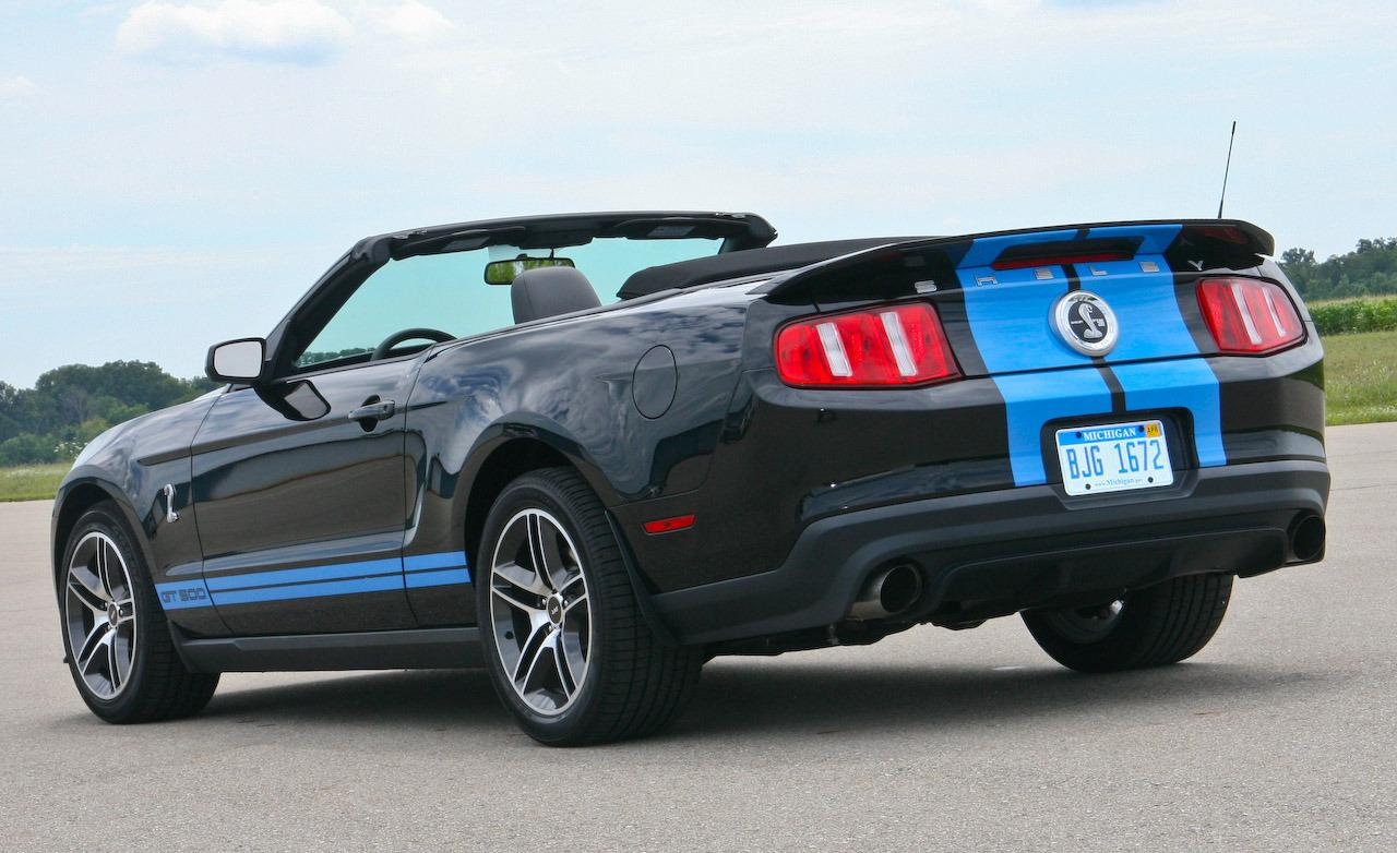 2010 ford shelby gt 500 cabrio pictures information and specs auto. Black Bedroom Furniture Sets. Home Design Ideas