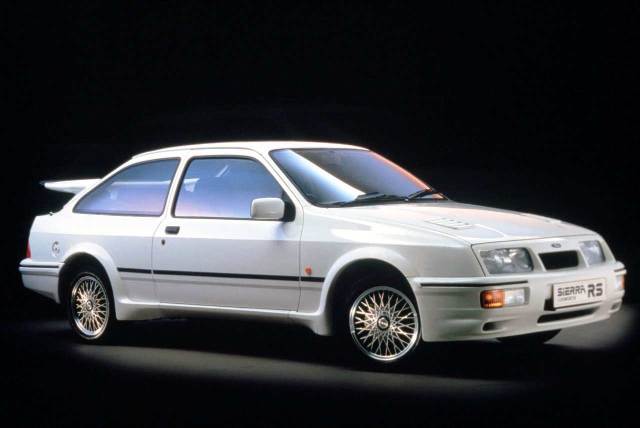 Pictures of ford sierra