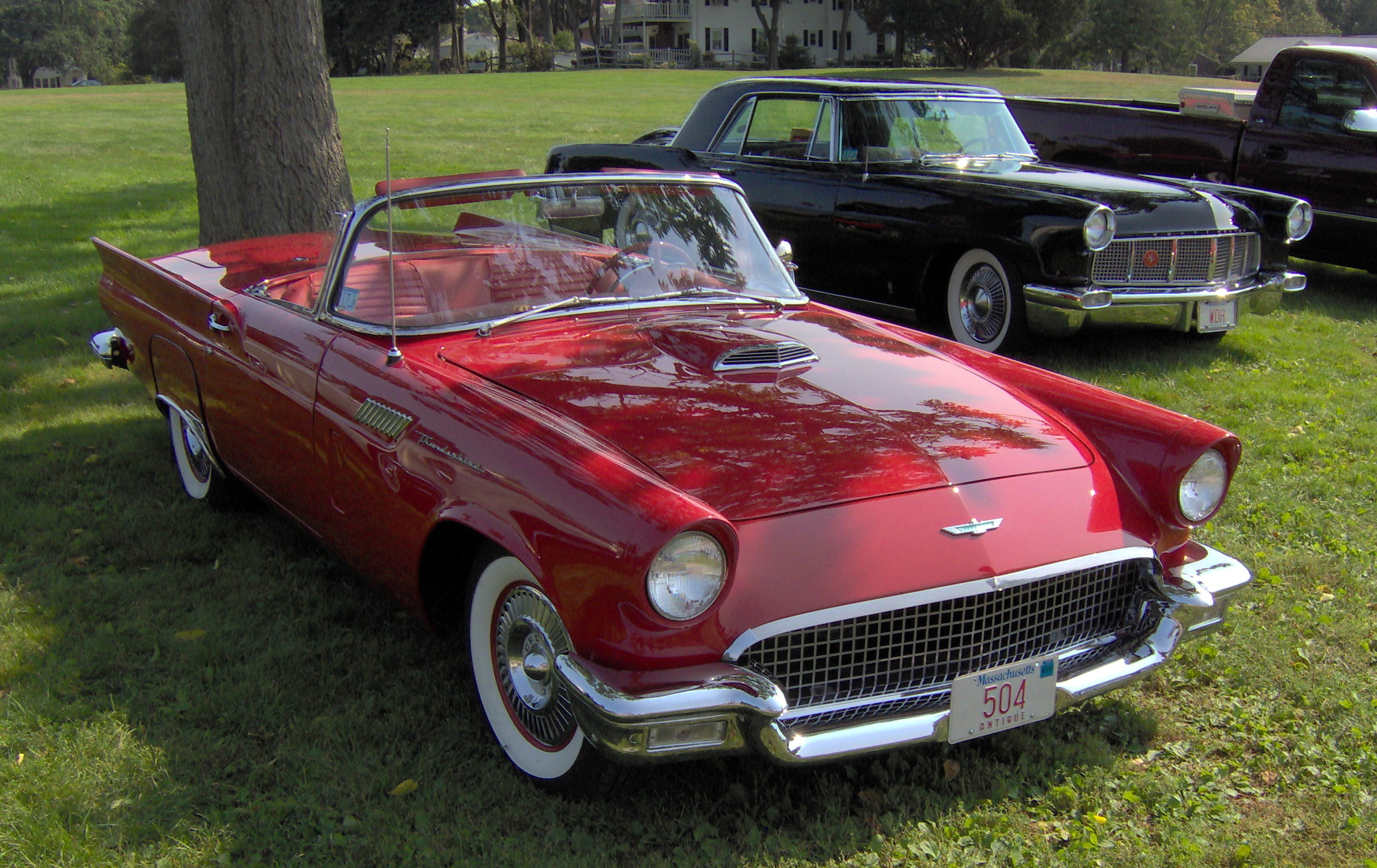 Pictures of ford thunderbird