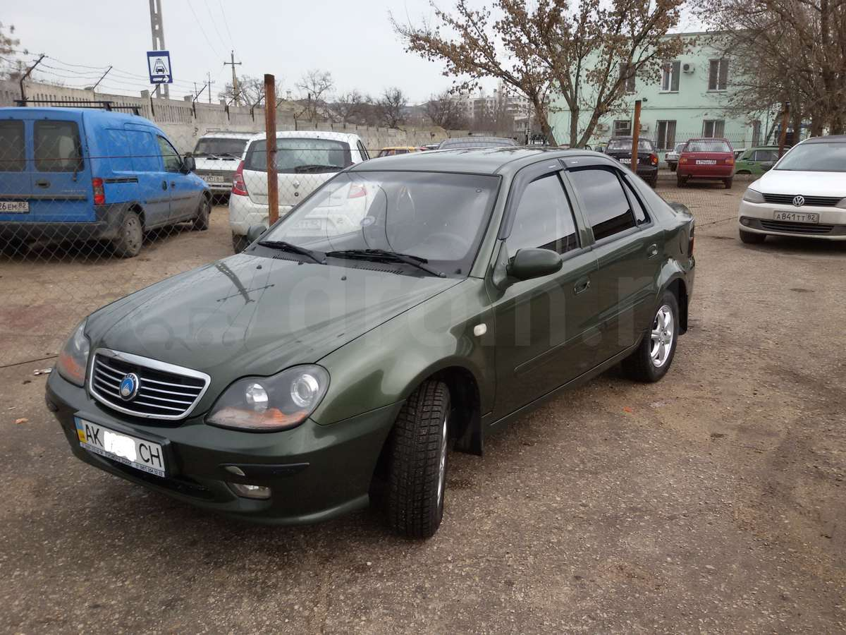 Pictures of geely ck 2007 #14
