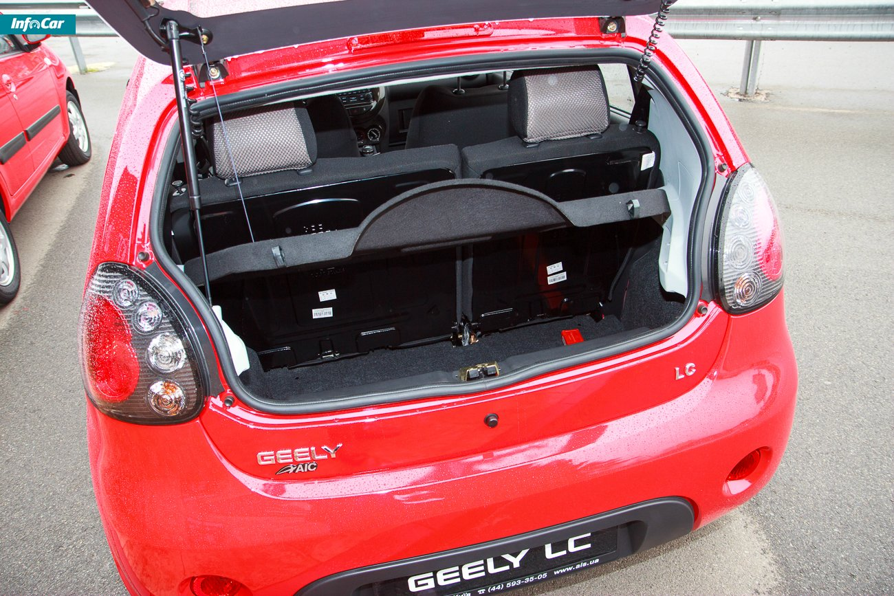 Pictures of geely lc-cross