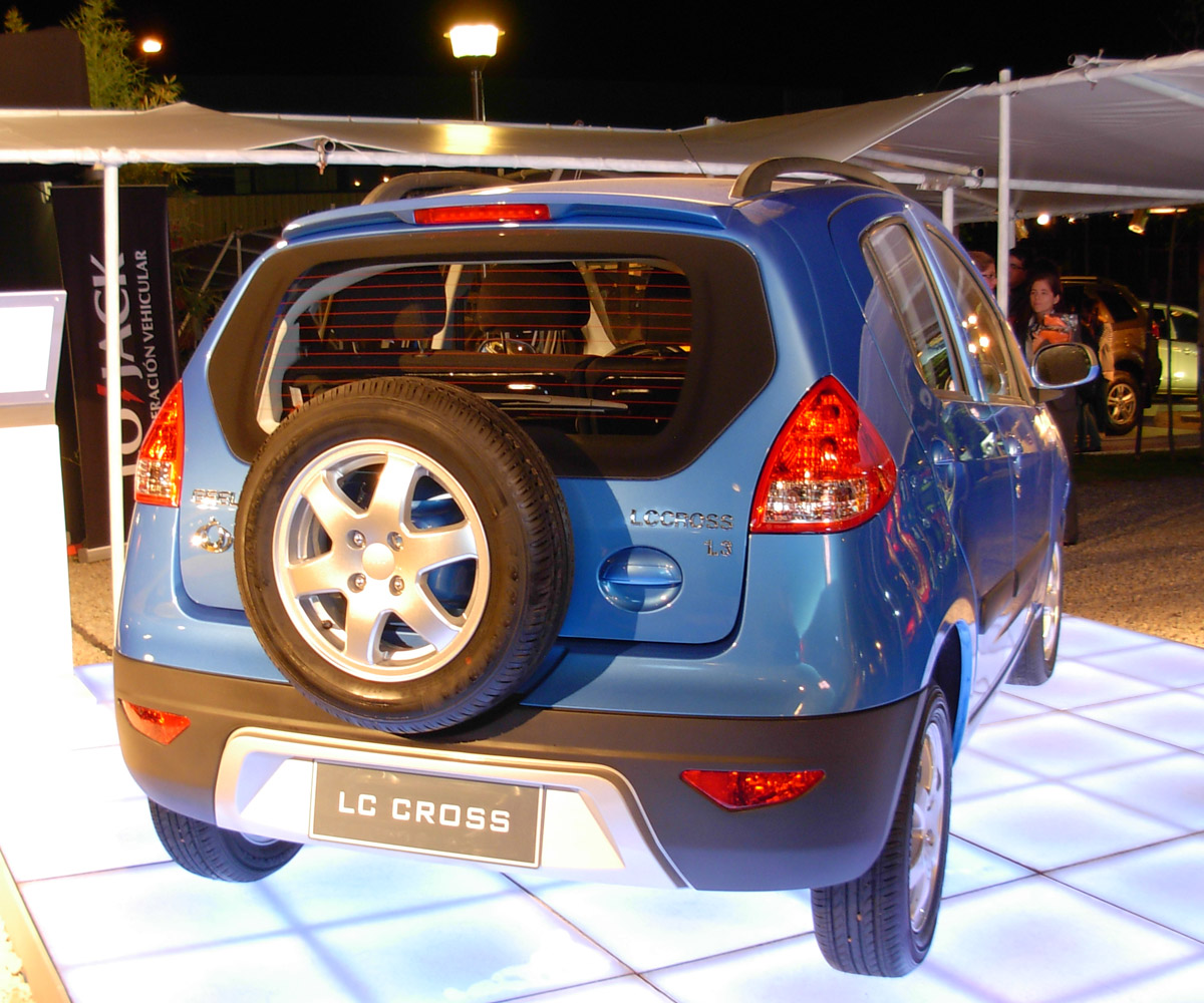 Pictures of geely lc-cross #14