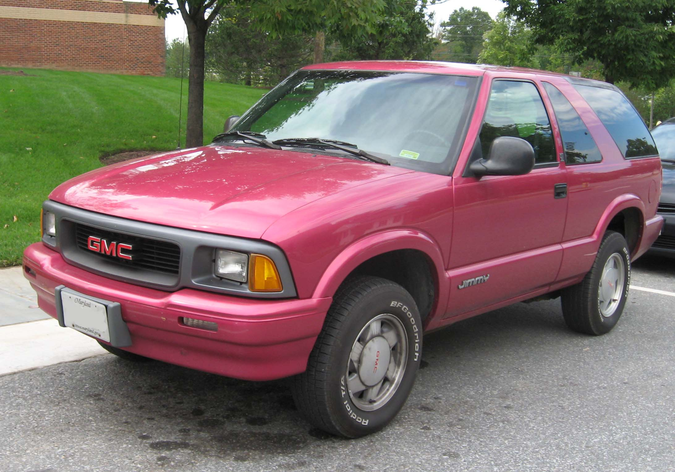 Pictures of gmc jimmy