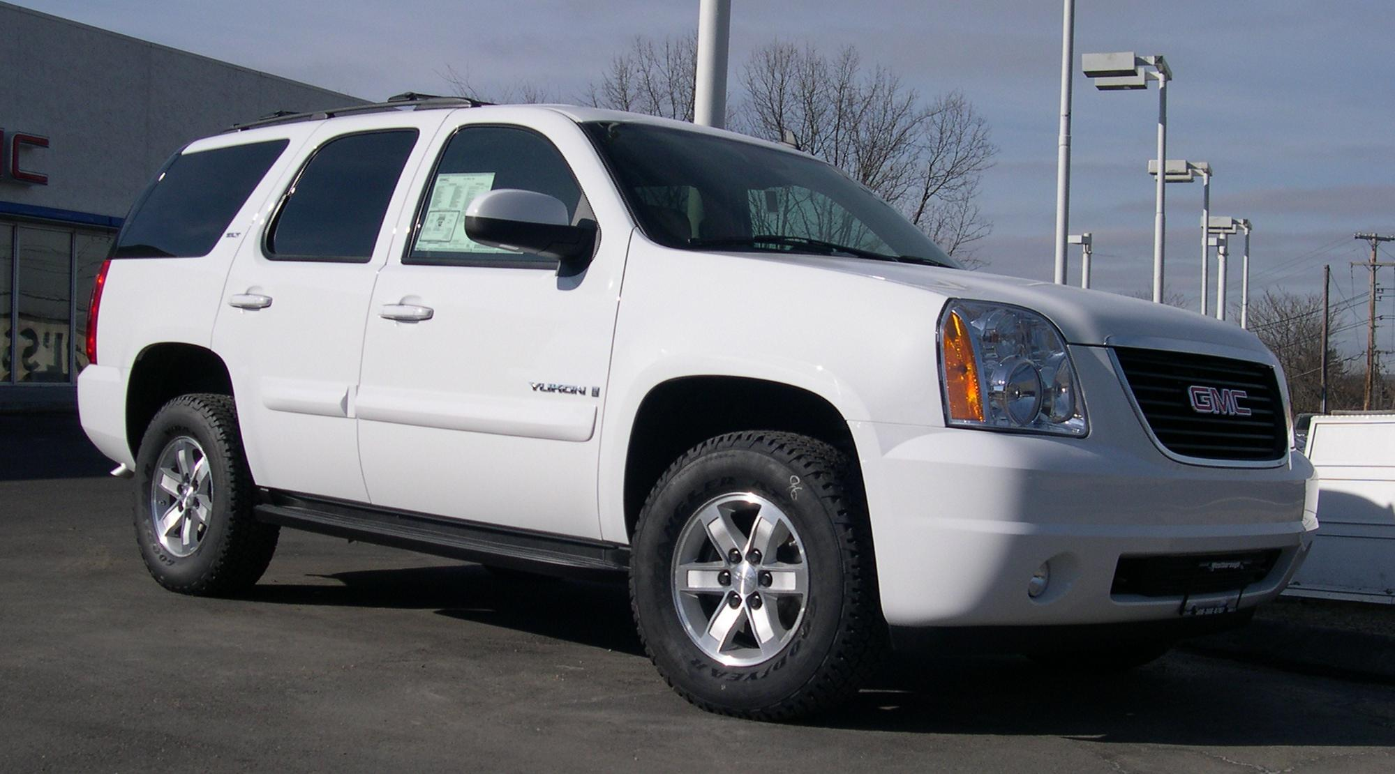 Pictures of gmc yukon (gmt900) 2006