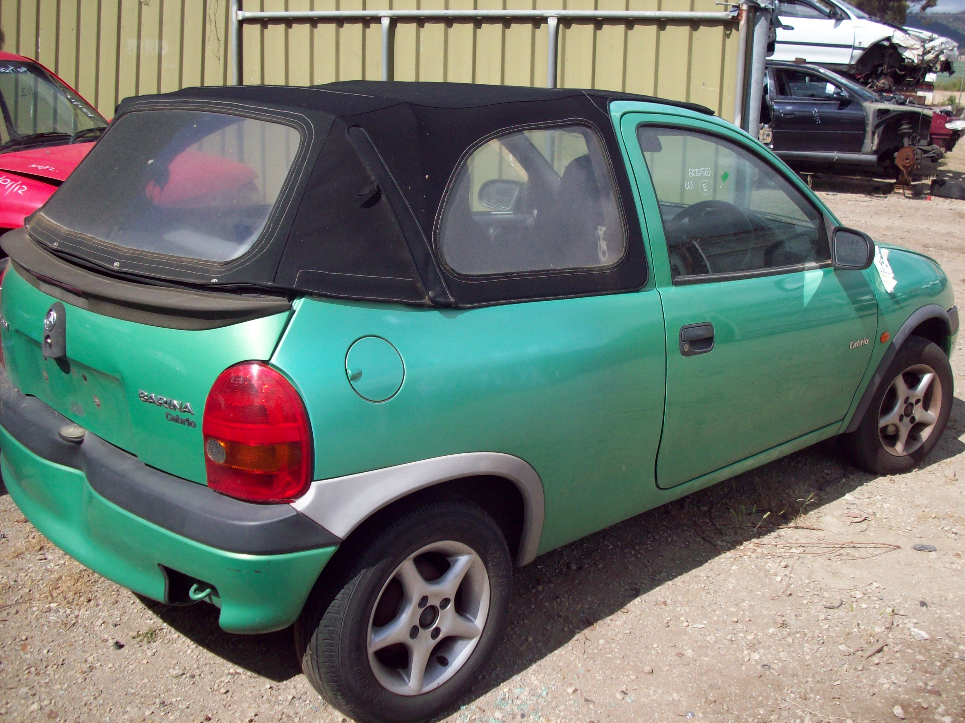 Pictures of holden barina (sb) 1998