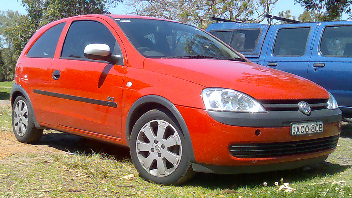 Pictures of holden barina (xc) 2003 #2
