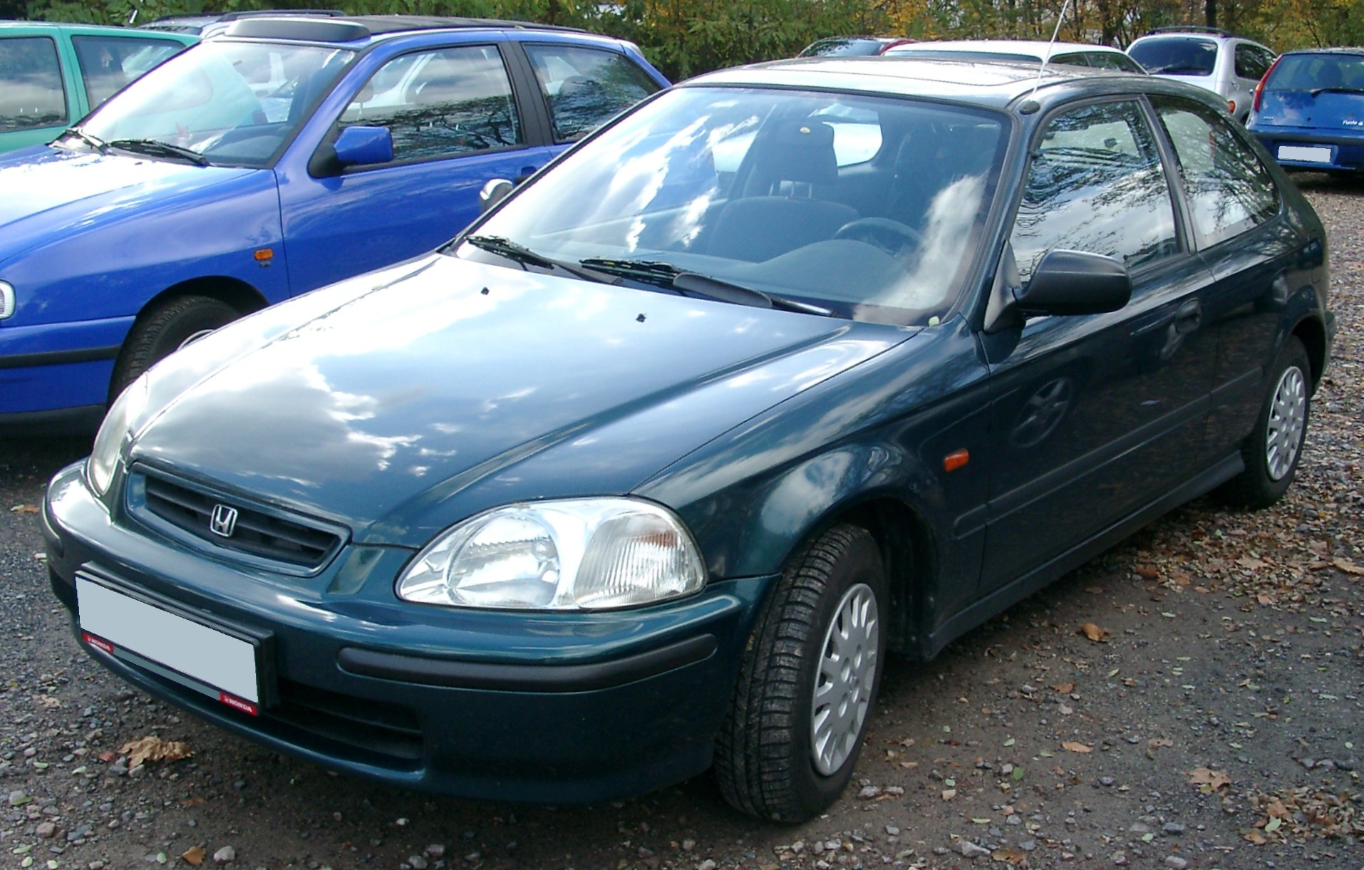 Pictures of honda civic coupe vi 1998