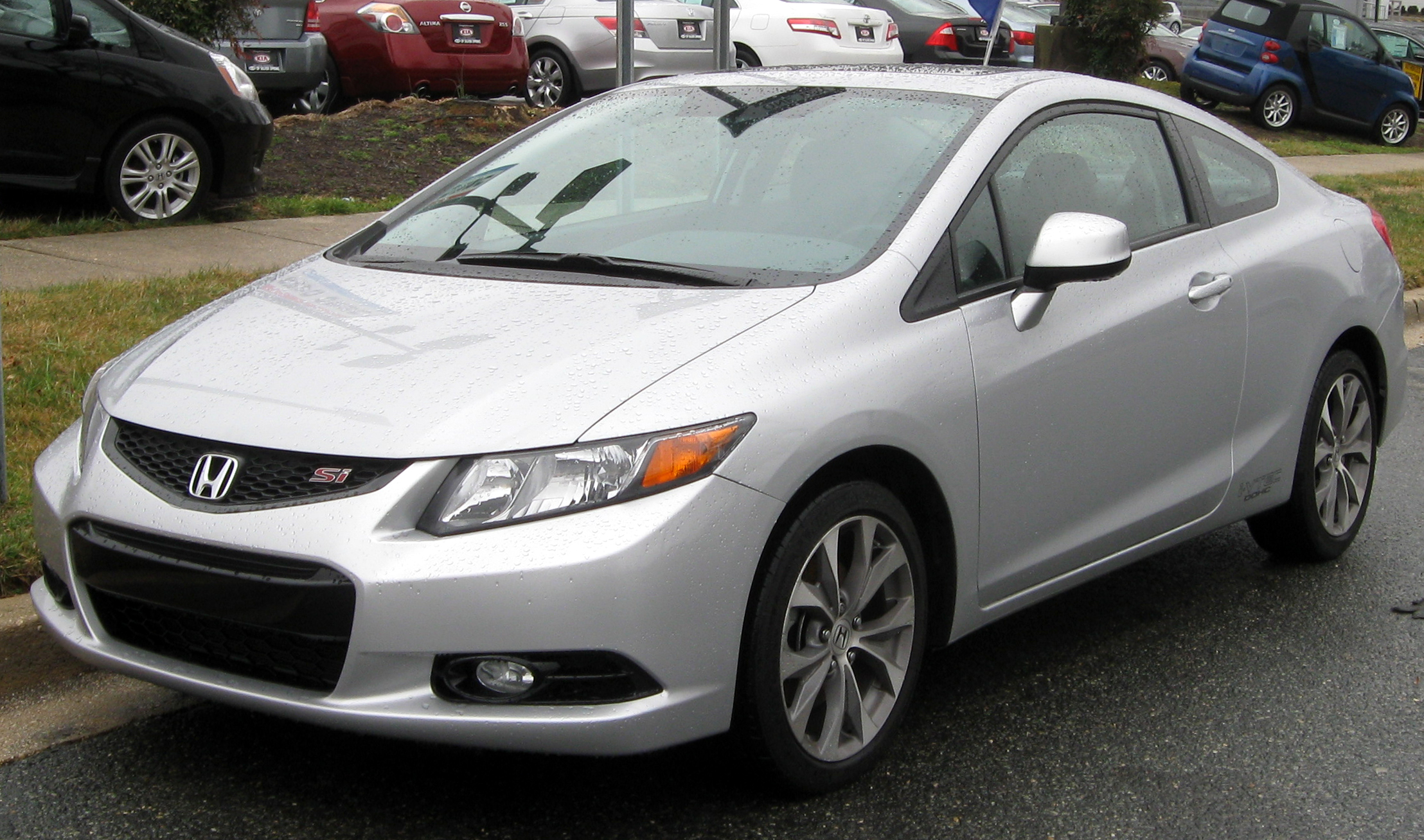 Pictures of honda civic viii coupe 2012