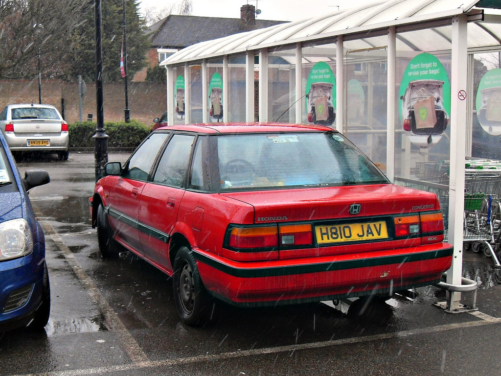 Pictures of honda concerto (hw) 1991
