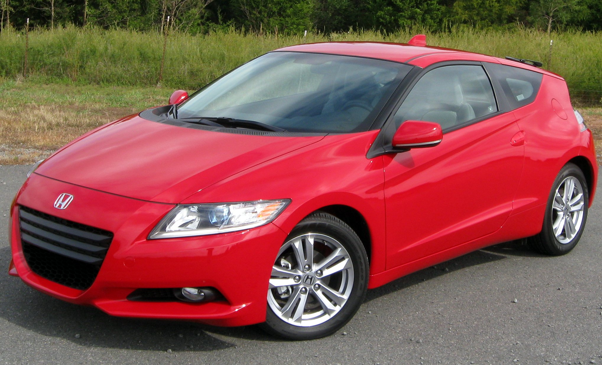 Pictures of honda cr-z