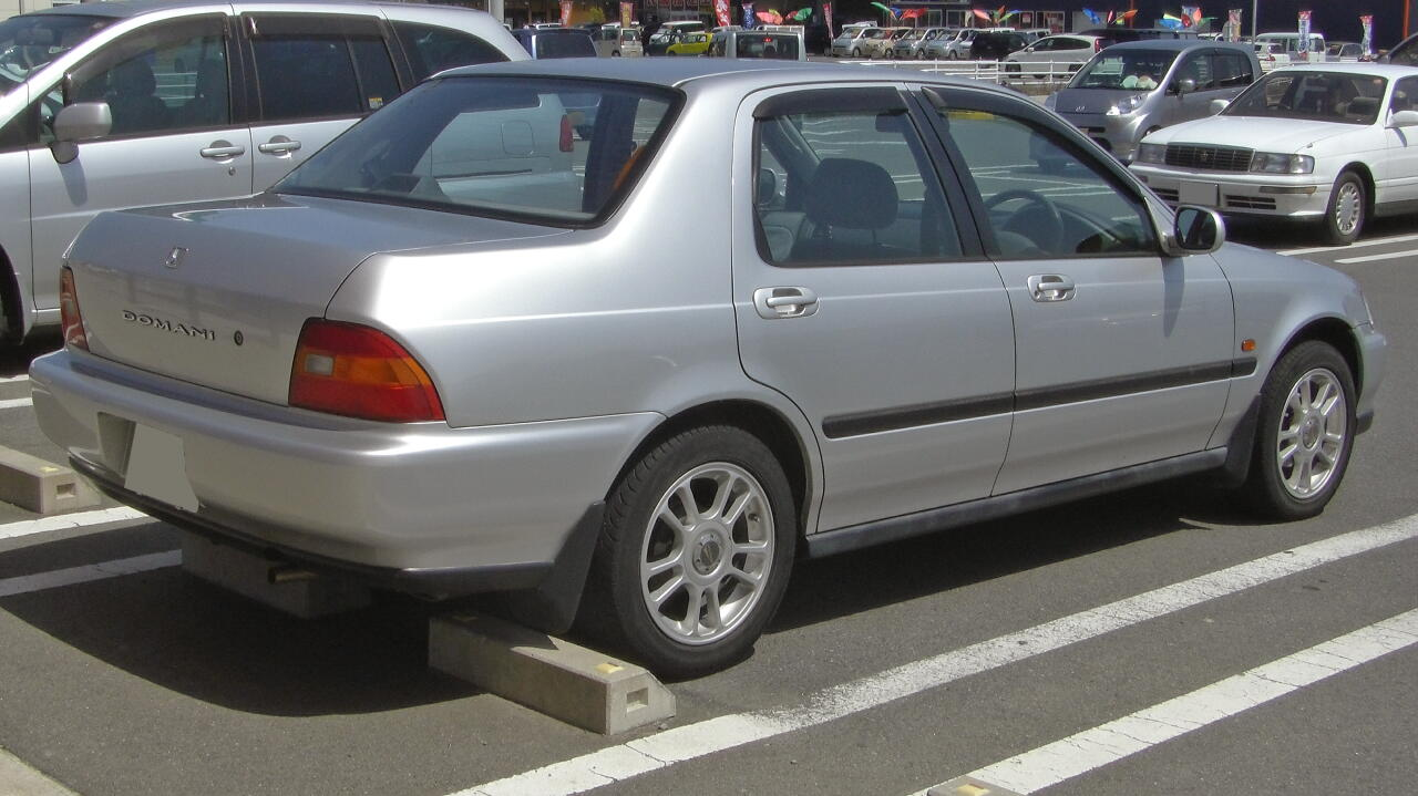 Pictures of honda domani i 1992 #1