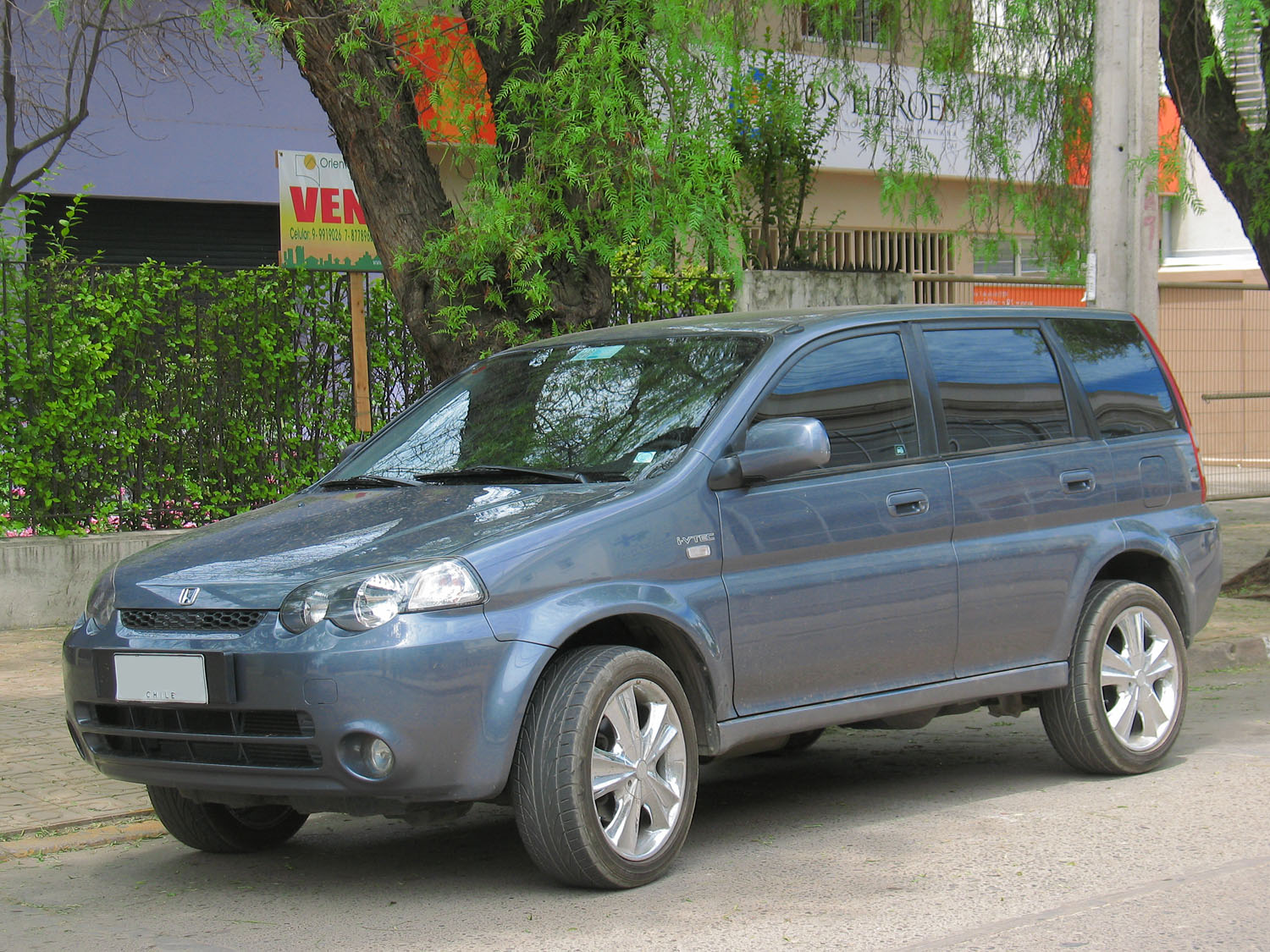 Pictures of honda hr-v (gh) 2000 #12