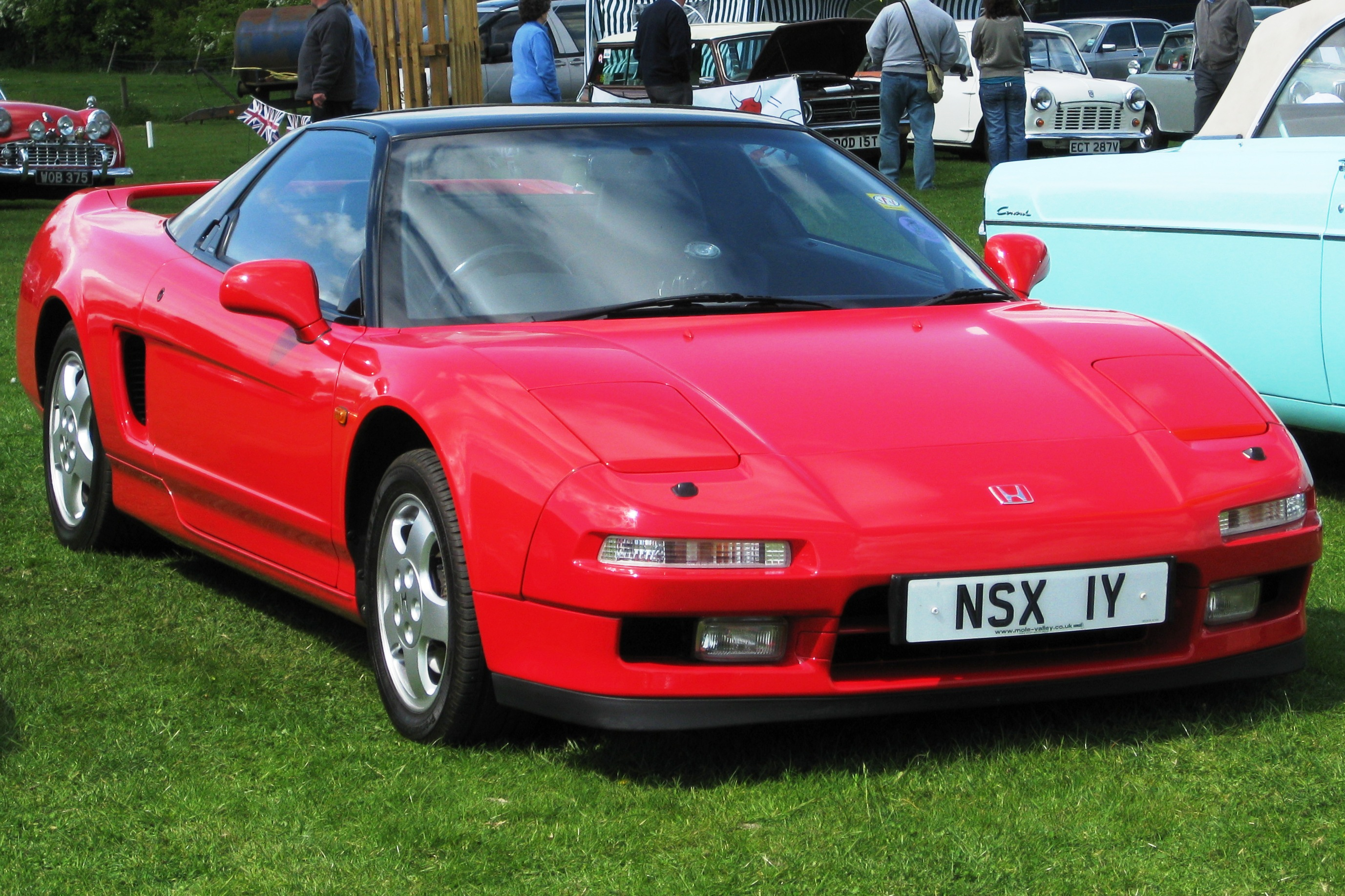Pictures of honda nsx coupe (na) 1996