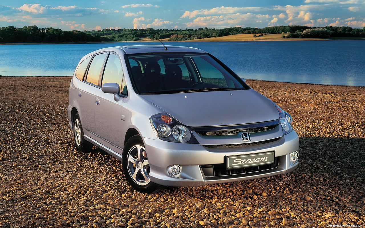 Pictures of honda stream 2004