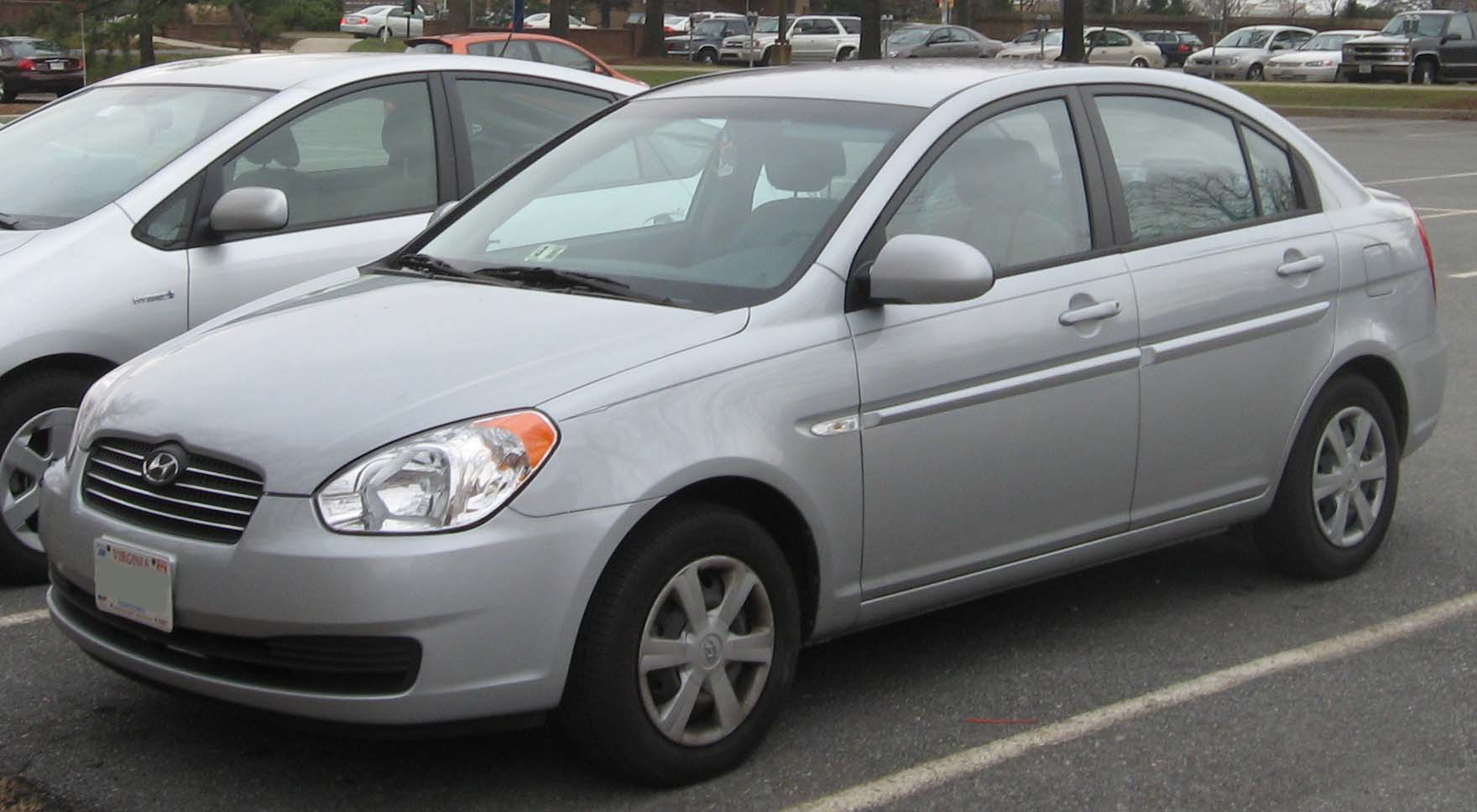 Pictures of hyundai accent #9
