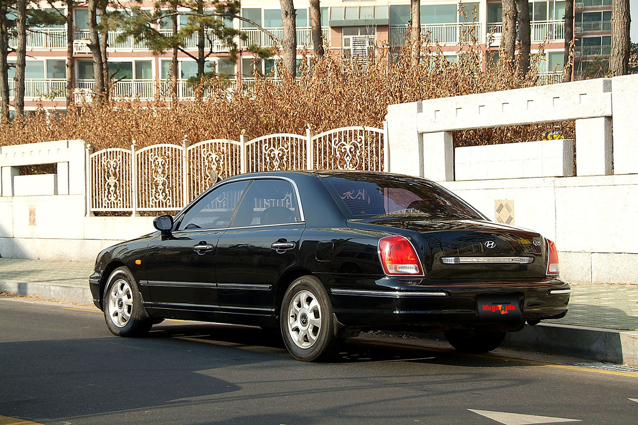 Pictures of hyundai grandeur iii 2001 #5