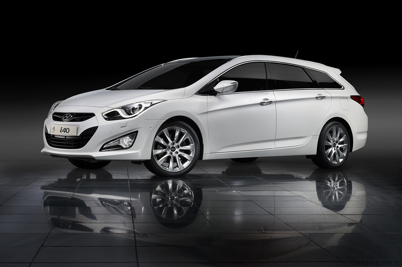 Pictures of hyundai i40