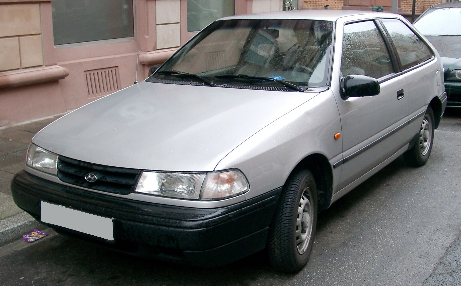 Pictures of hyundai pony/excel sedan (x-2) 1990