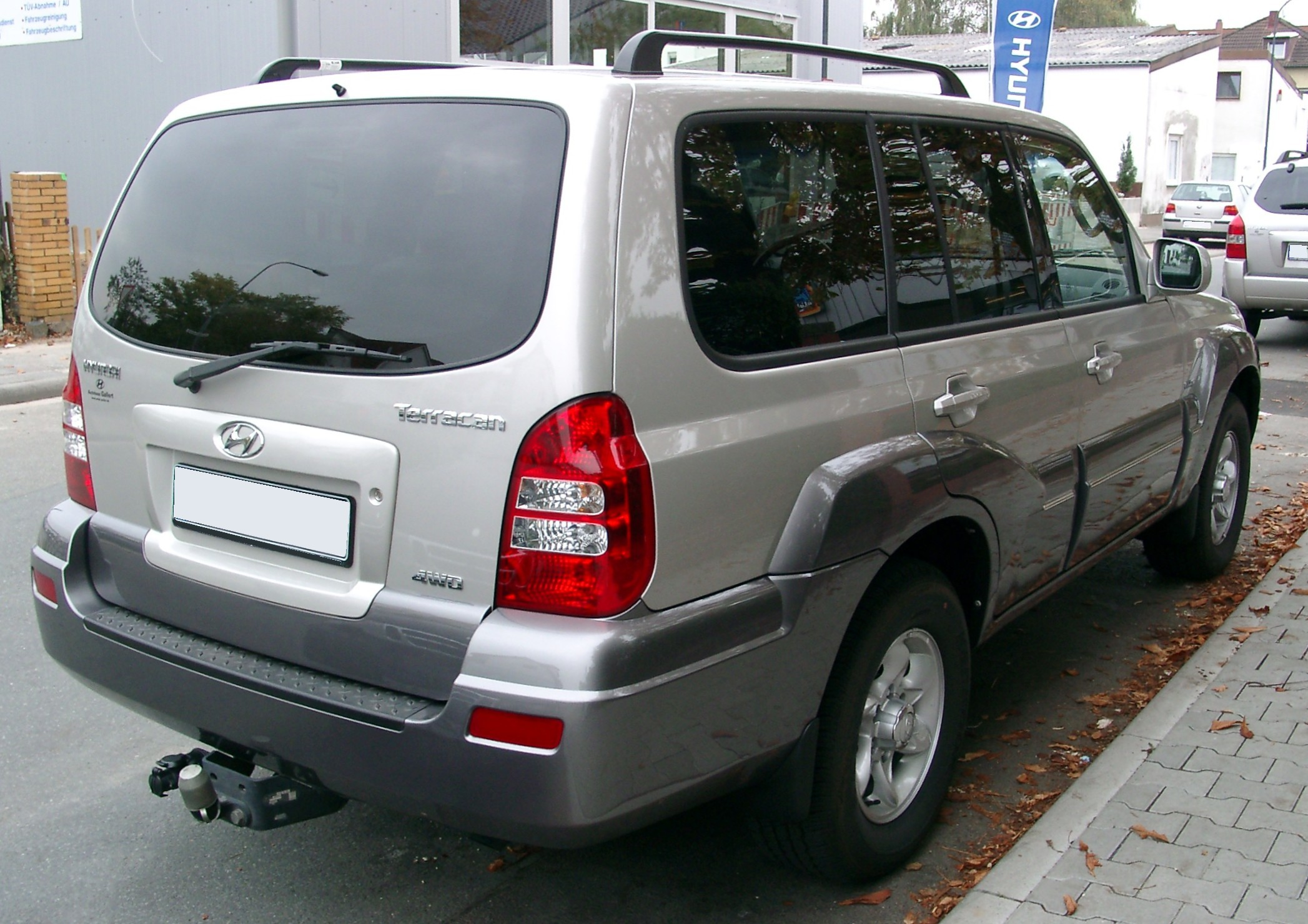 Pictures of hyundai terracan 2004