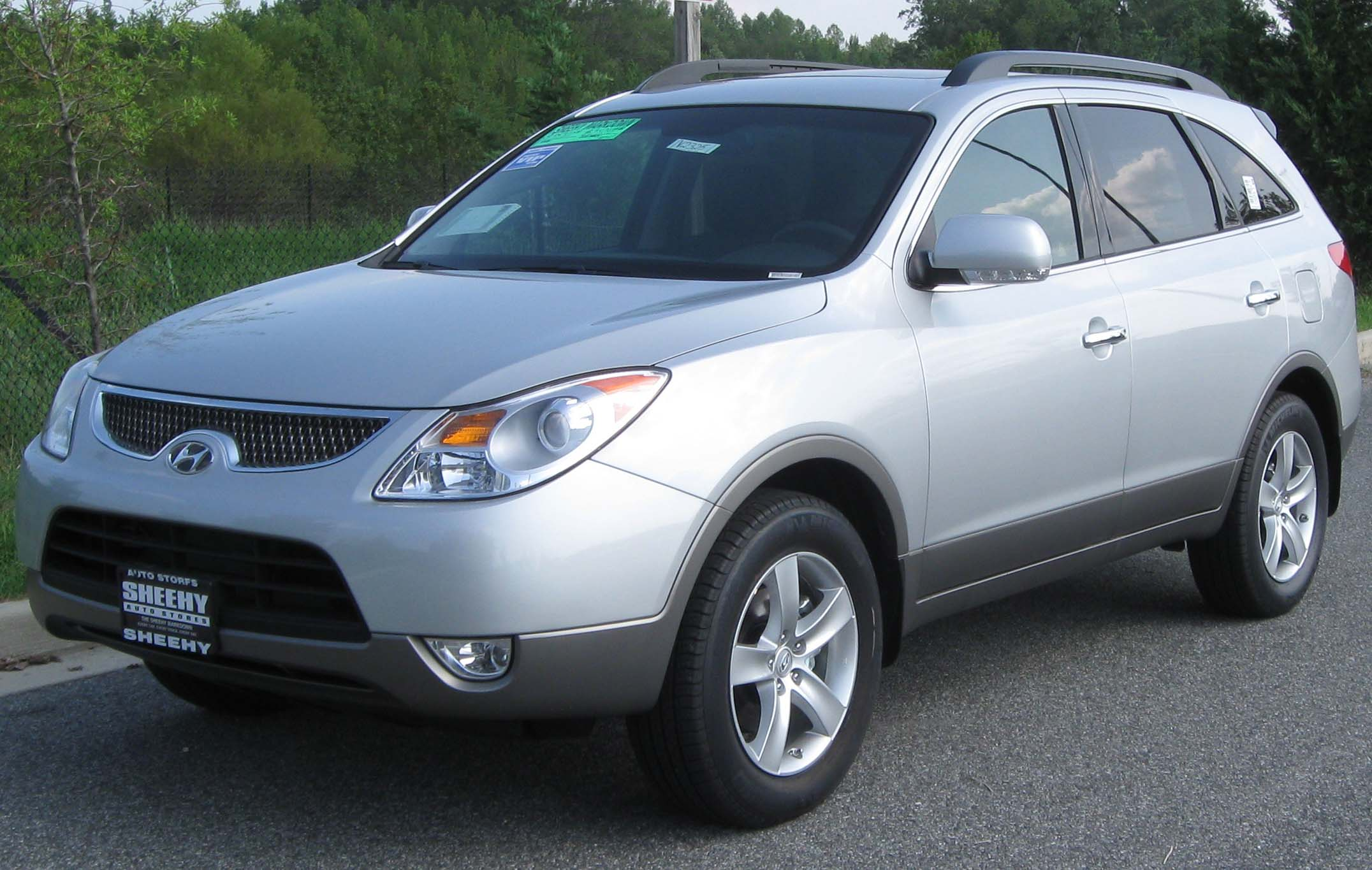 Pictures of hyundai veracruz