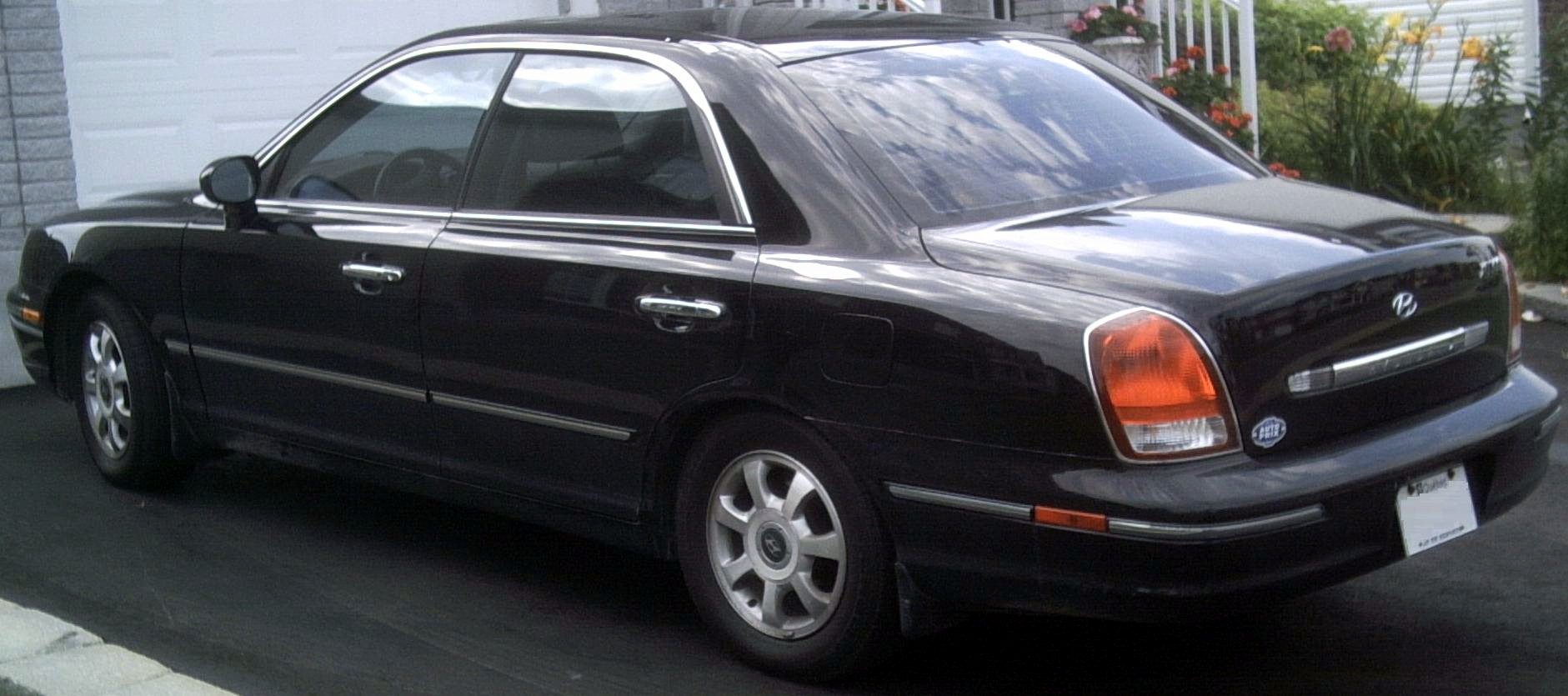 Pictures of hyundai xg 2000
