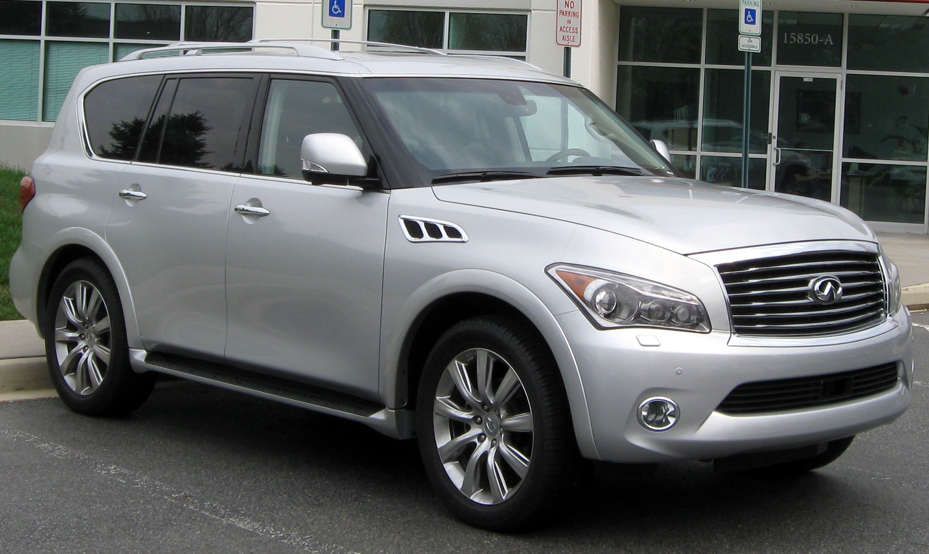 Pictures of infiniti qx56 ii 2014