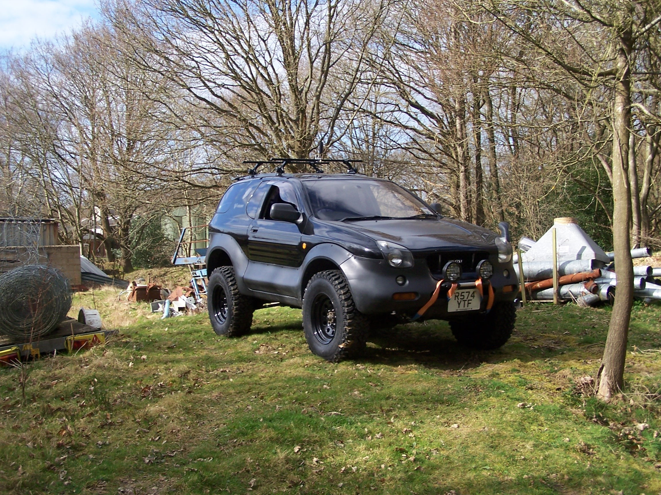 Pictures of isuzu vehicross 1997