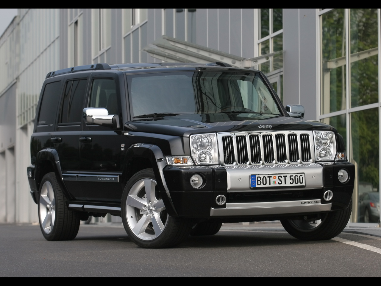 Pictures of jeep commander #5