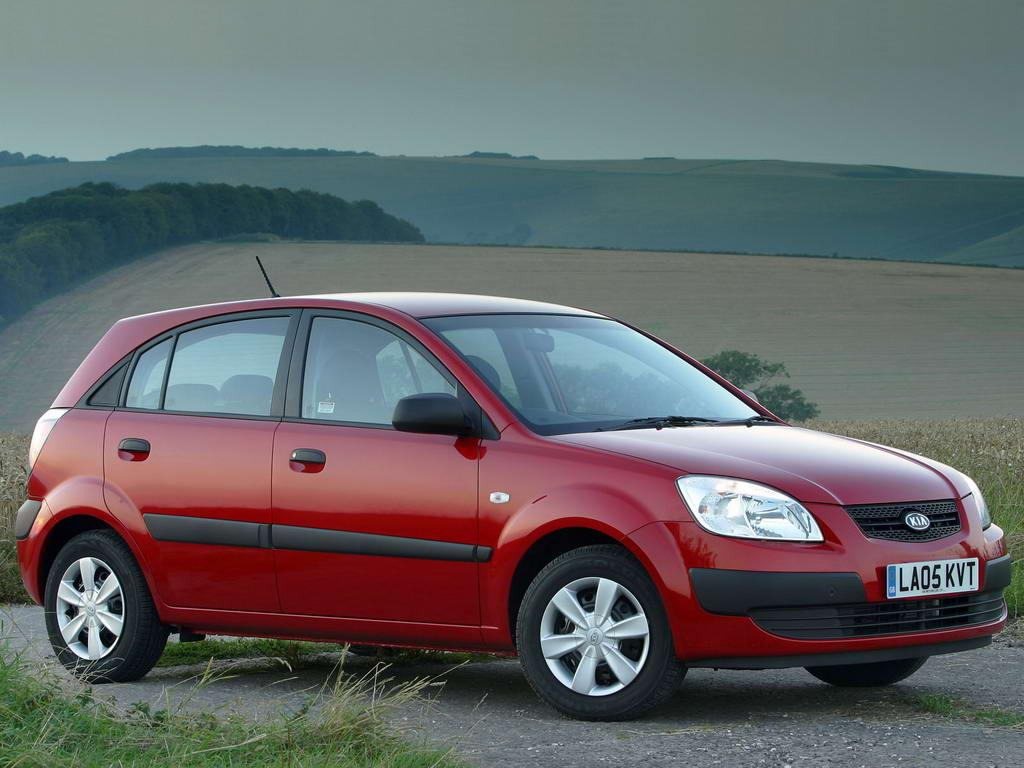 2006 kia rio ii hatchback pictures information and. Black Bedroom Furniture Sets. Home Design Ideas