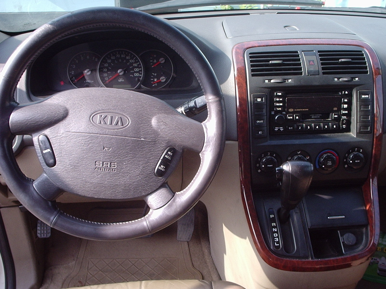 Pictures of kia sedona 2003