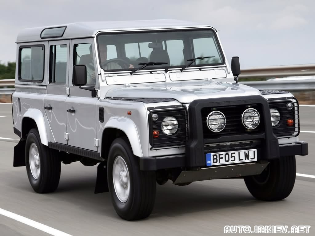2005 Land Rover Defender 110 Pictures Information And