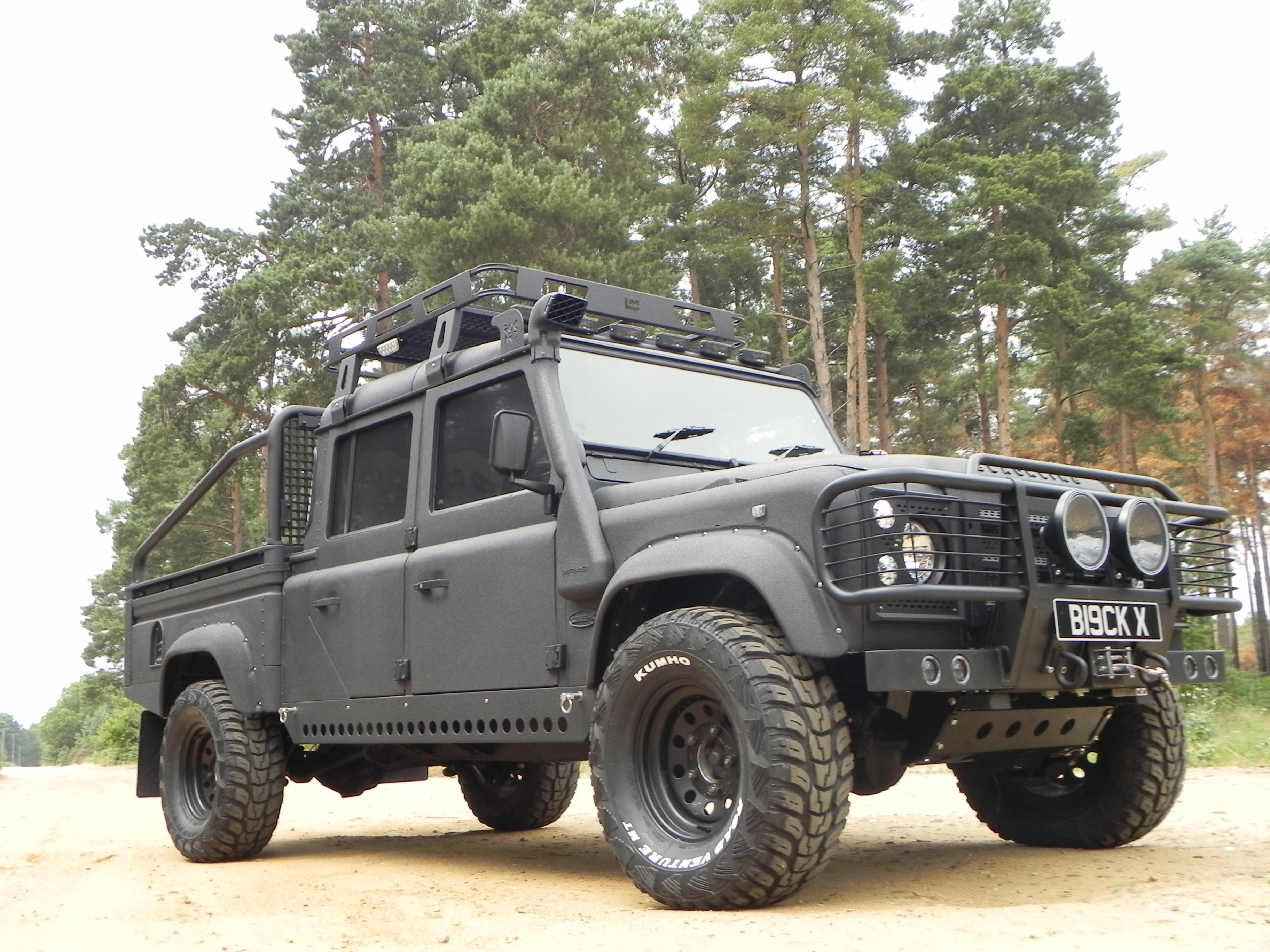 2014 land rover defender 130 pictures information and specs auto. Black Bedroom Furniture Sets. Home Design Ideas