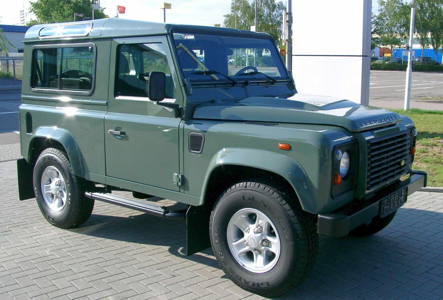 Pictures of land rover discovery i 1992