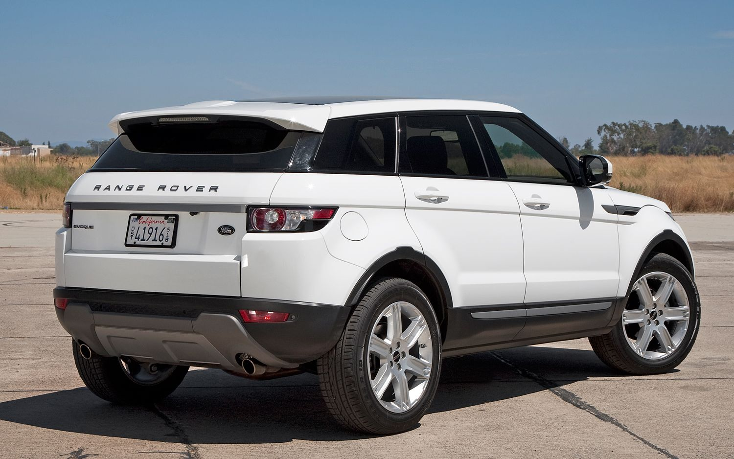 Pictures of land rover range rover evoque #7