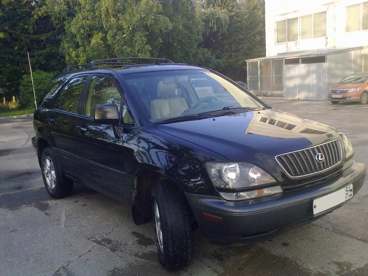 Pictures of lexus rx 1999