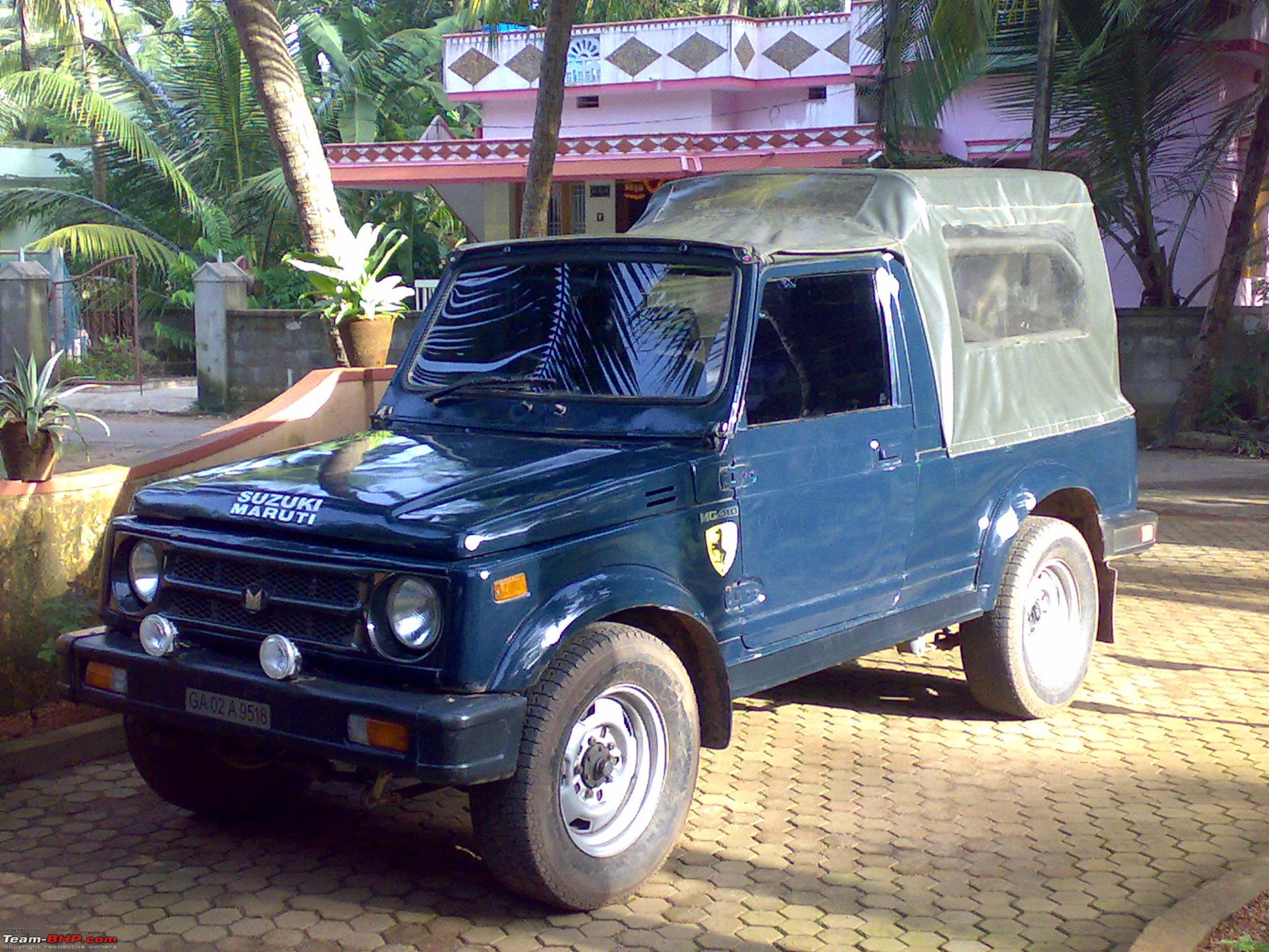 Pictures of maruti gypsy 2004