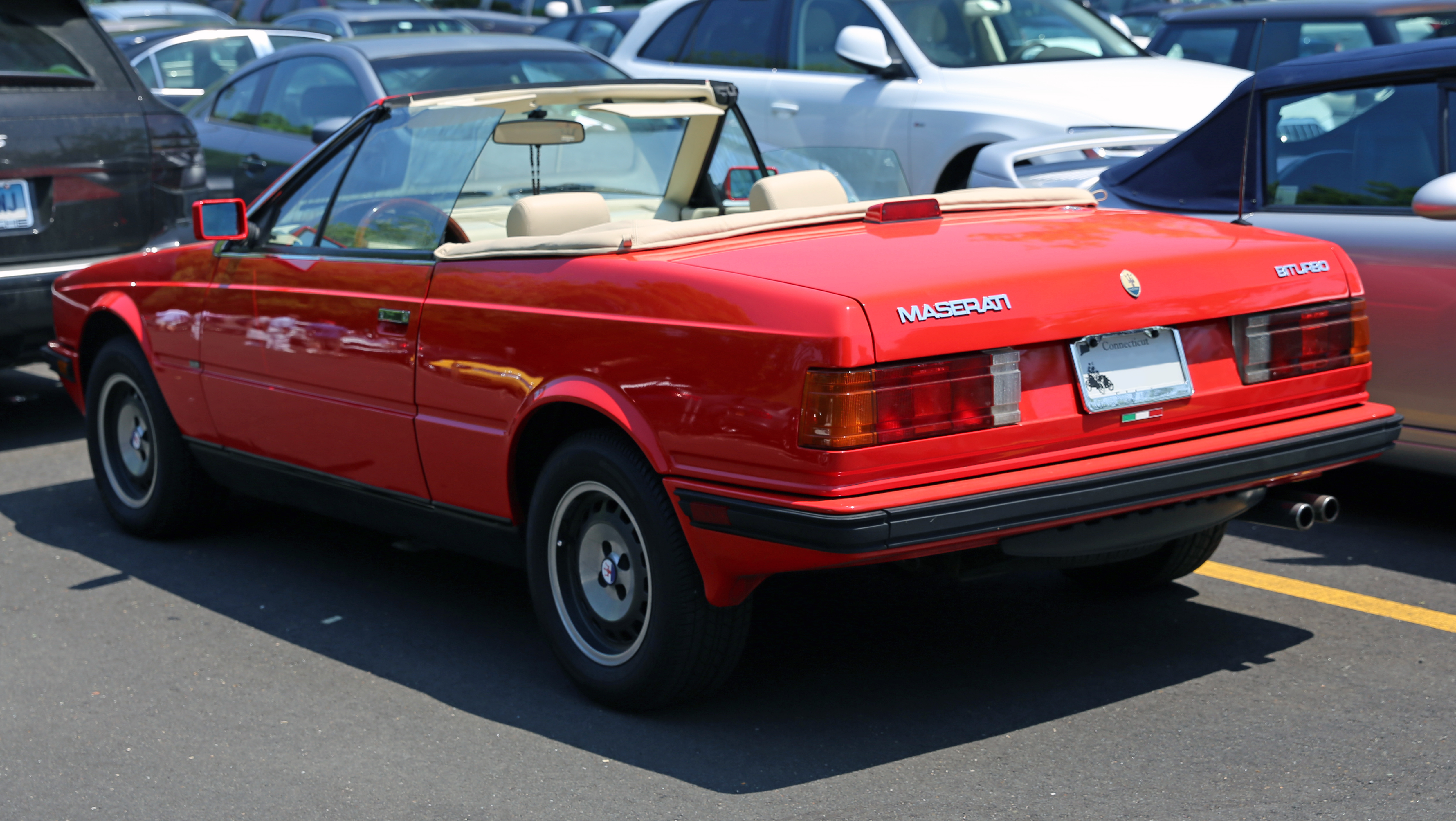 Pictures of maserati biturbo #1
