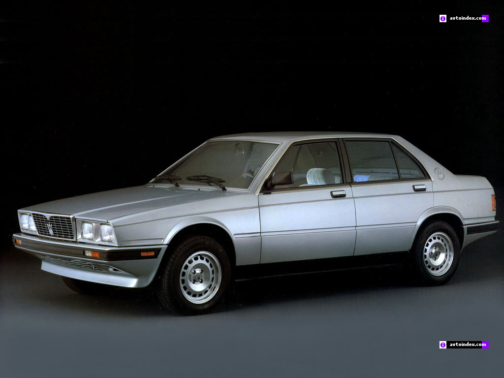 Pictures of maserati biturbo #9