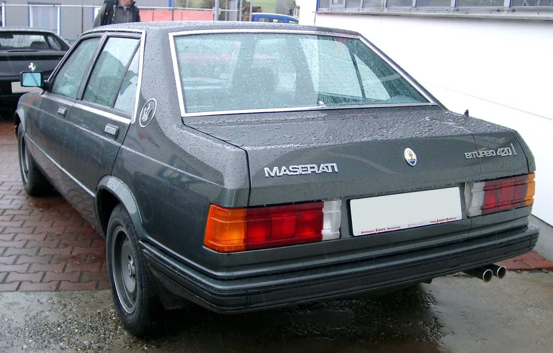 1990 Maserati Biturbo - pictures, information and specs ...