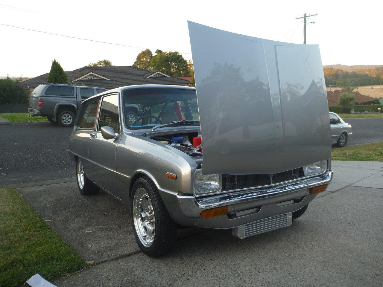 Pictures of mazda 1300