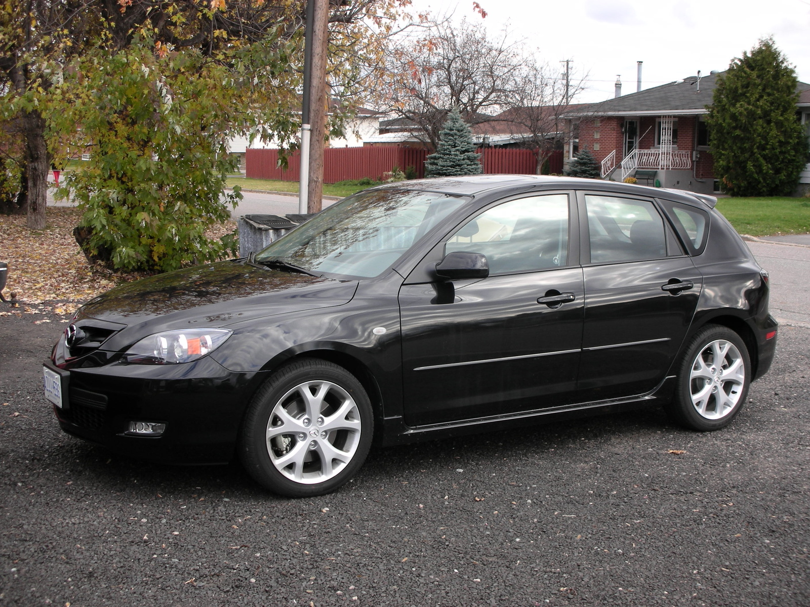 High Quality Pictures Of Mazda Mazda 3 Hatchback 2007 #15
