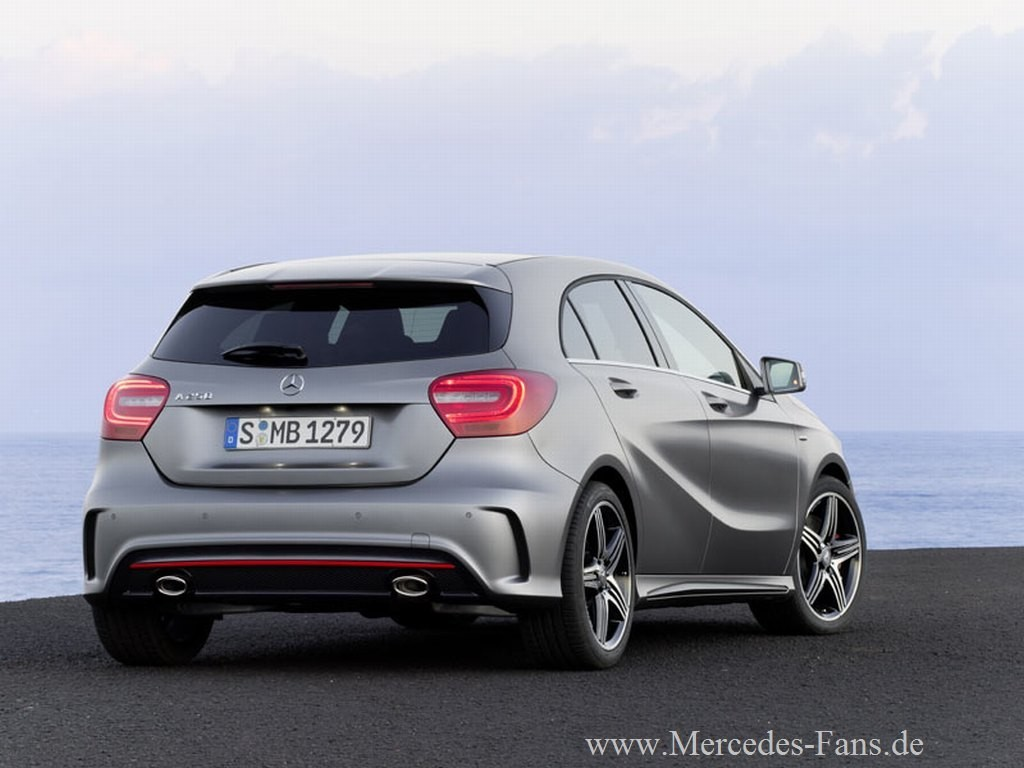 Pictures of mercedes a-klasse
