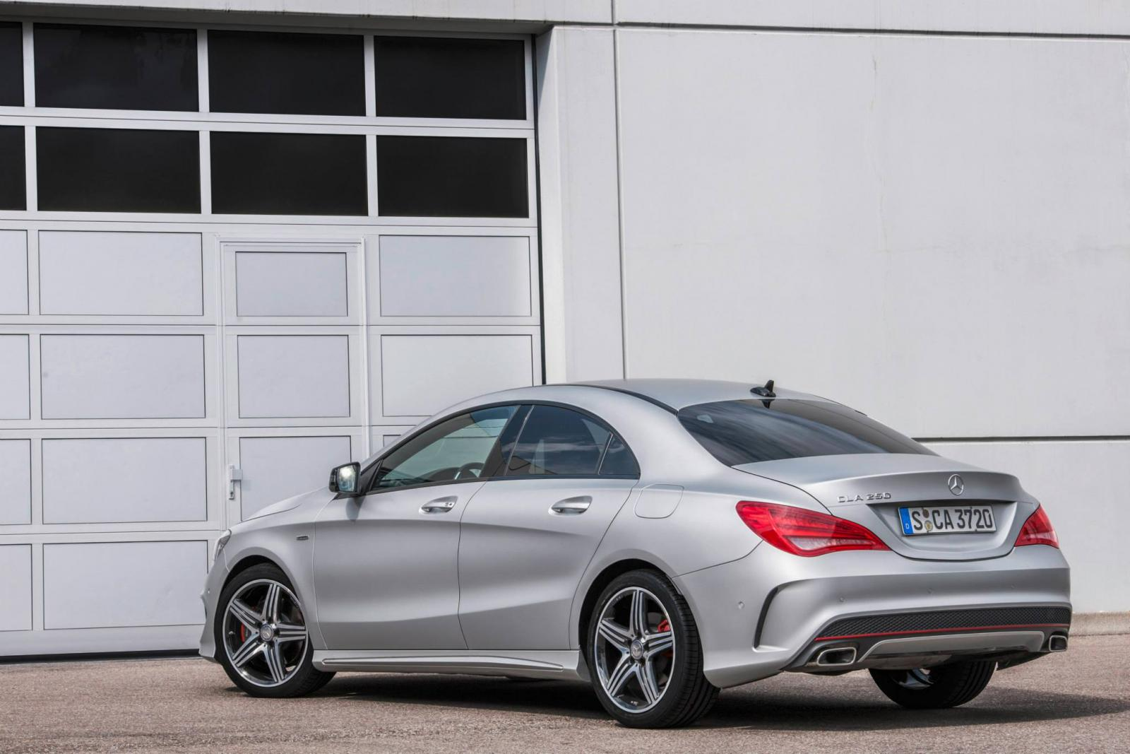 Pictures of mercedes cla